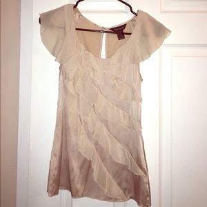Silk Frilly Blouse